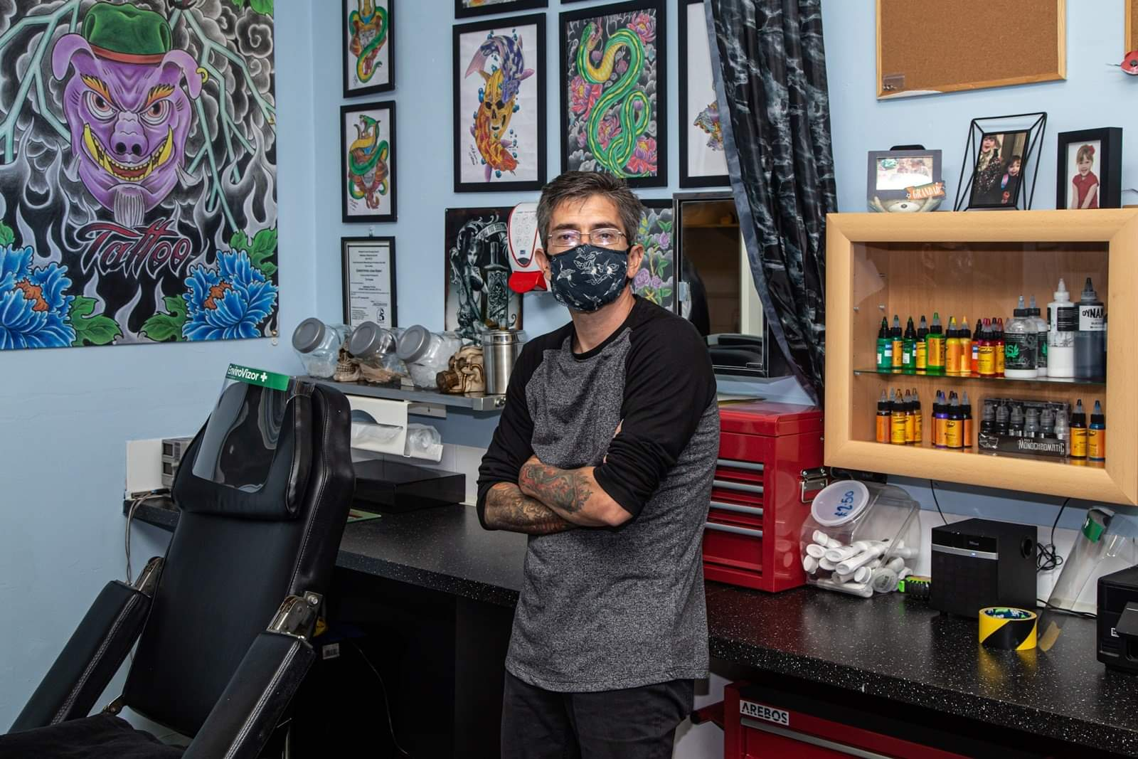 Inkrediblle Tattoo & Piercing Studio - Chris - Tattooist